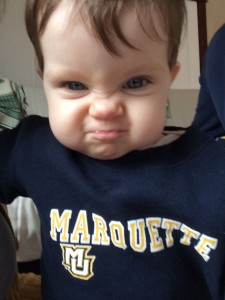 Eileen's Marquette Game Face